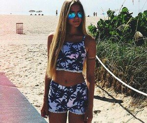 fashion, summer, and beach image