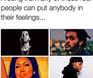 Drake, jhene aiko, and the weeknd image