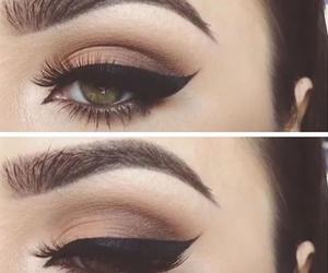 girl, a, and makeup image