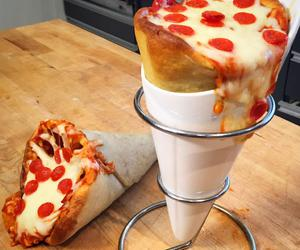 cup, pizza, and pizza cup image