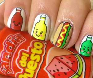 colorful, food, and hot dog image
