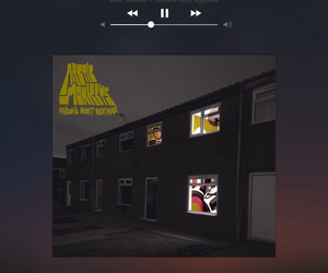 arctic monkeys, fluorescent, and song image