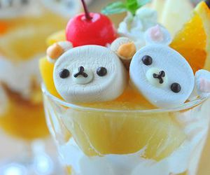 food, rilakkuma, and drink image