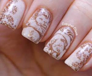 angel, manicure, and nails image