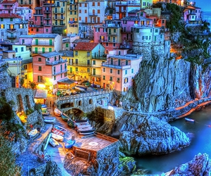 italy, travel, and cinque terre image