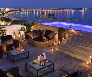 luxury, sea, and pool image