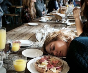 food, girl, and indie image
