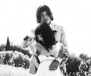 bmth, oliver sykes, and couple image
