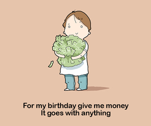 birthday, cartoon, and comics image