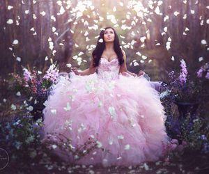 princess, dress, and fantasy image