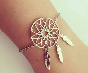 dreamcatcher, jewellery, and attrape rêve image