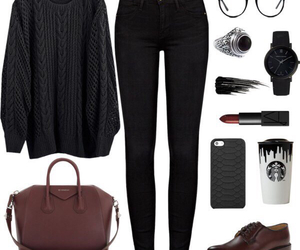 look, black, and jeans image