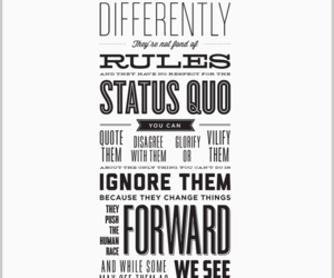 quote, Steve Jobs, and crazy image