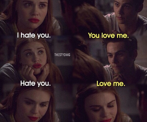 teen wolf, stydia, and lydia image