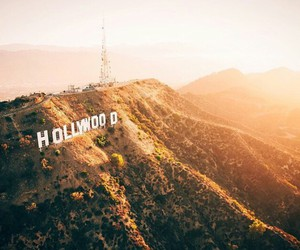 hollywood, mountain, and place image