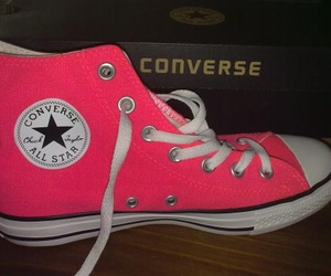 all star, converses, and pink image