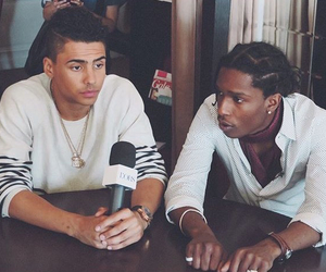 quincy, asap rocky, and quincybrown image
