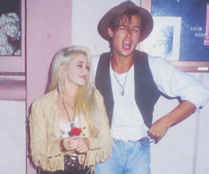 80's, brad pitt, and fashion image