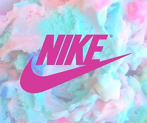 nike, Logo, and pink image