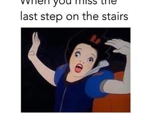 funny, disney, and falling image