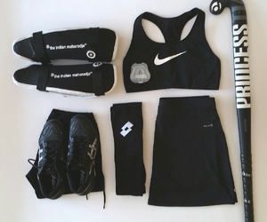 gear, hockey, and outfit image
