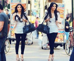 kim kardashian, style, and bag image