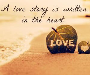 heart and love story image