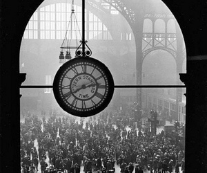 train station, wwii, and vintage image