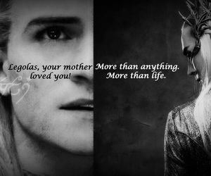 Legolas, the hobbit, and more than life image