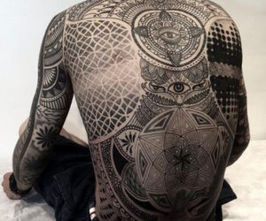 art, paint, and tattoo image