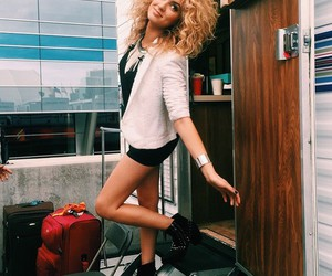 tori kelly, curly, and smile image