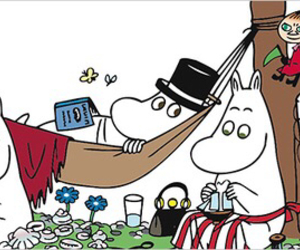 finland and moomin image