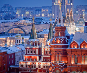 city, europe, and moscow image
