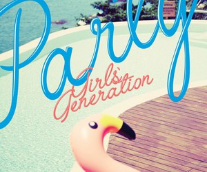 party, girls generation, and snsd image