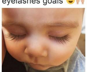 eyelashes, goals, and cute image