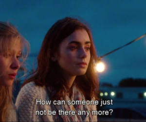 lily collins, where rainbows end, and love rosie image