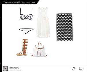 beach, clothes, and cover up image