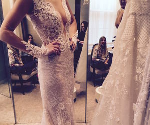 beautiful, dress, and marriage image