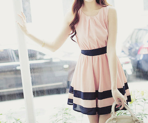 dress, fashion, and kfashion image