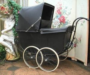 baby carriage, buggy, and carriage image