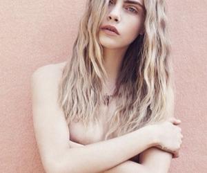 model, beautiful, and fashion image