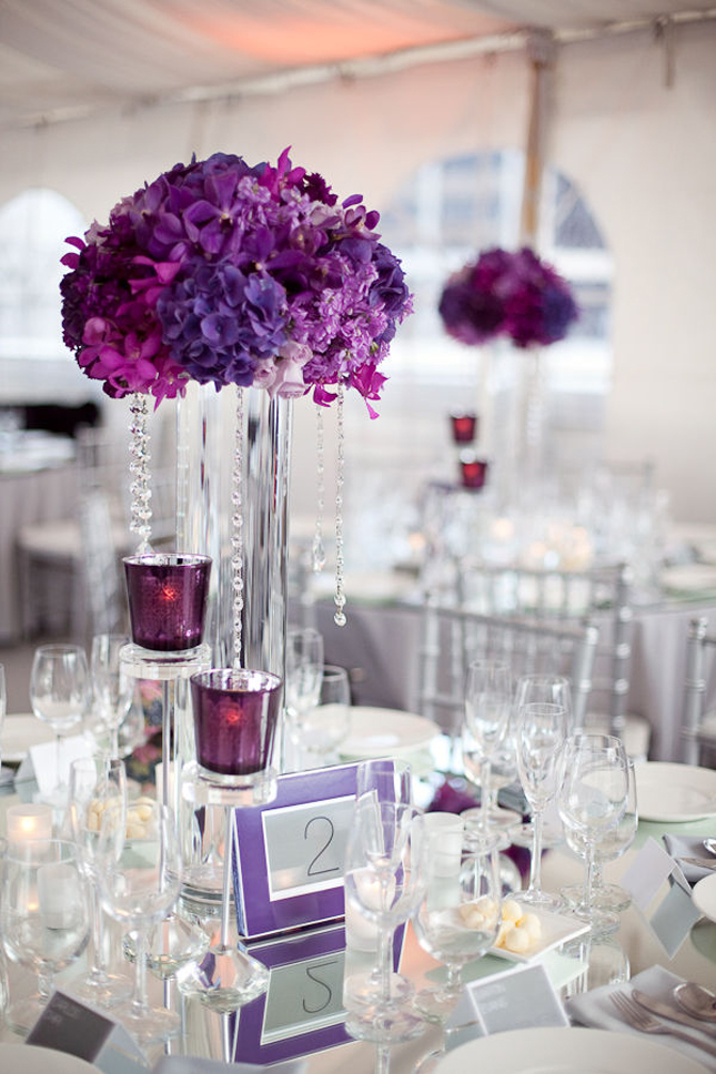 Fine Purple Hydrangea Wedding Centerpieces Interior Design Ideas Oteneahmetsinanyavuzinfo