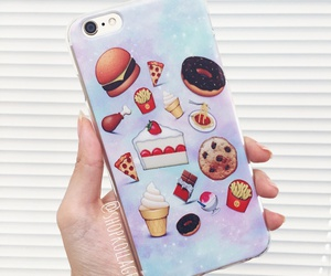 food, phone case, and emojis image