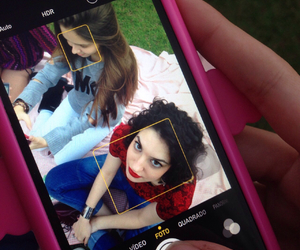 beautiful, cellphone, and fashion image