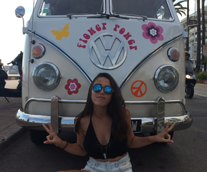 combi, france, and hippie image
