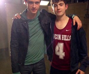 teen wolf, ian nelson, and derek image