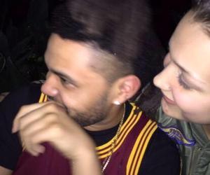 couple, the weeknd, and abel tesfaye image