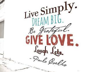 be, laugh, and live image