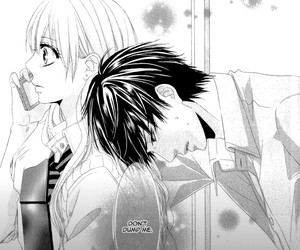 manga, couple, and shoujo image
