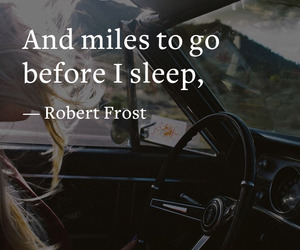 frost, quote, and sleep image